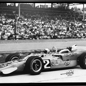 Mario Andretti 1969 Indi 500 Victory memorabilia collectibles