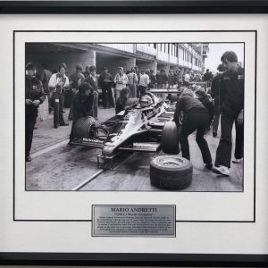 Mario Andretti 1987 World Champion Photo