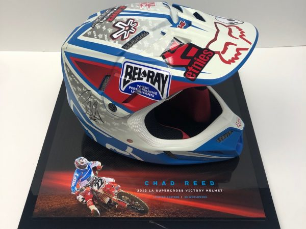Chad Reed 2012 race Issued Helmet
