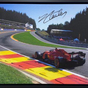 Charles Leclerc 2019 SPA Victory Eau Rouge