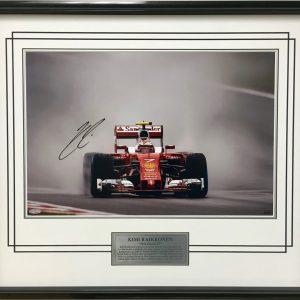 Kimi Raikkonen 2016 China Rain