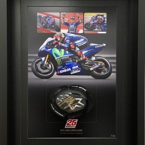 Maverick Vinales 2017 Knee Slider worn memorabilia collectibles