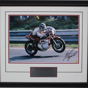 giacomo agostini mv agusta signed world champion yamaha