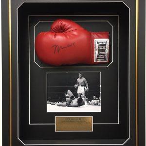 muhammad ali signed everlast boxing glove memorabilia collectible