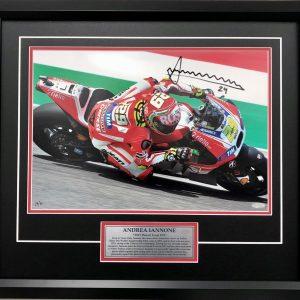 andrea iannone ducati signed motogp mugello victory