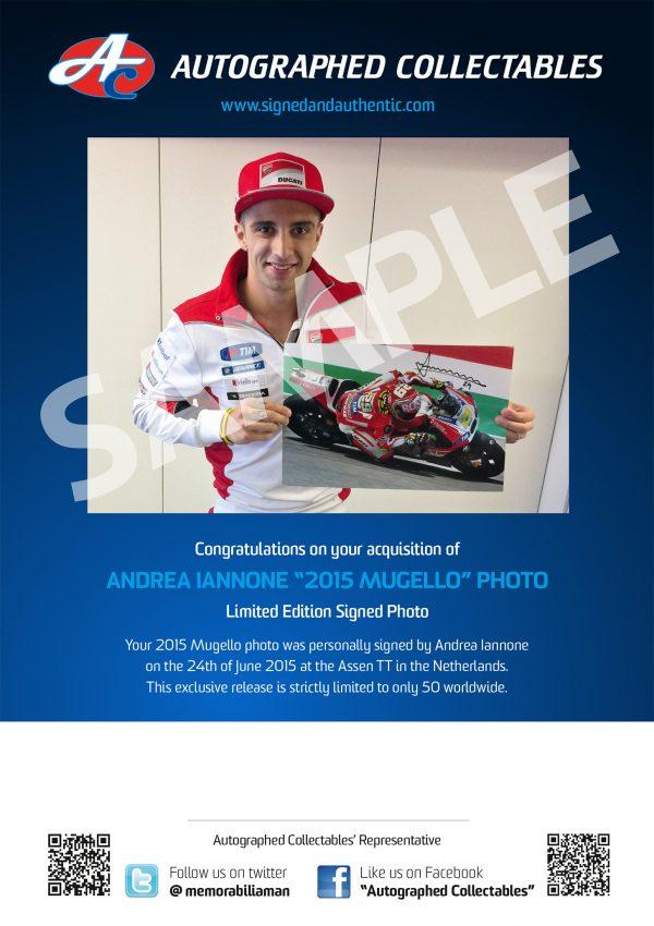 andrea iannone signed mugello victory photo motogp