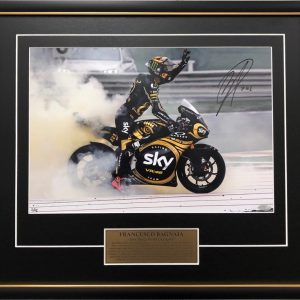 pecco bagnaia world champion signed moto2 memorabilia photo collectibles