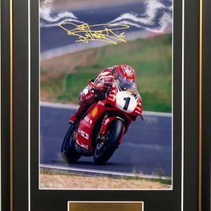 Carl Fogarty Signed Ducati World Superbike signed memorabilia collectibles