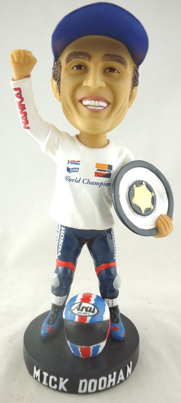 mick doohan 1998 bobble head