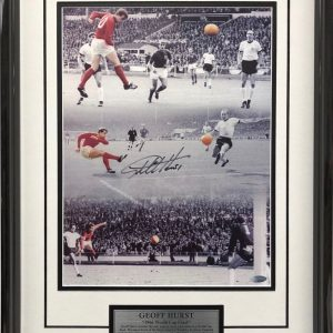 Geoff Hurst 1966 signed england hat trick collectibles memorabilia
