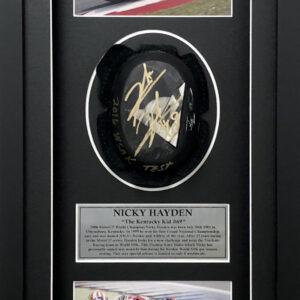 Nicky Hayden 2016 World superbike memorabilia signed