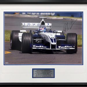 juan pablo montoya 2003 signed williams photo f1 formula 1