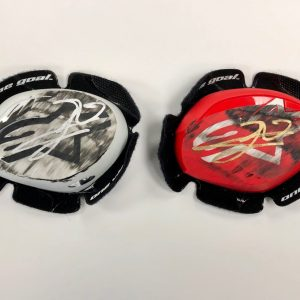 jorge lorenzo knee sliders worn motogp repsol honda collectibles