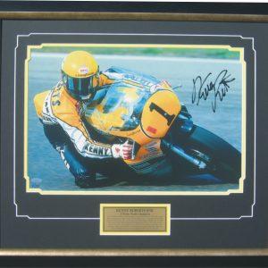 kenny roberts snr signed yamaha 500cc motogp world champion