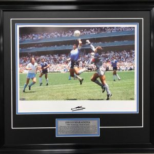 diego maradonna signed world cup argentina memorabilia collectibles