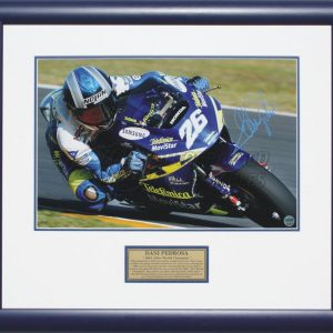 dani pedrosa 2004 world champion 250cc motogp signed memorabilia