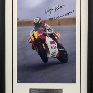 wayne rainey signed yamaha 500cc memorabilia photos