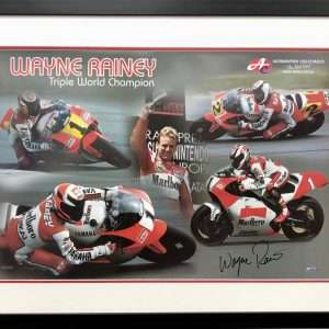 wayne rainey signed 500cc yamaha motogp memorabilia collectibles