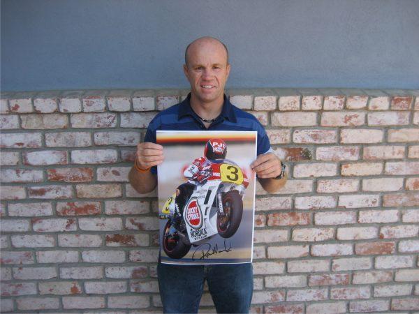 randy mamola 500cc yamaha motogp signed memorabilia collectibles