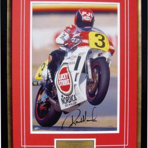 Randy Mamola 1987 Suzuka memorabilia yamaha 500cc