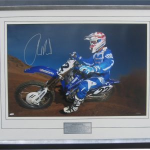 chad reed signed yamaha photo memorabilia collectibles