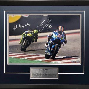 Alex Rins signed suzuki motogp first victory signed memorabilia collectibles
