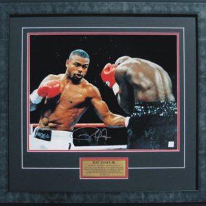 roy jones jnr signed boxing memorabilia collectibles