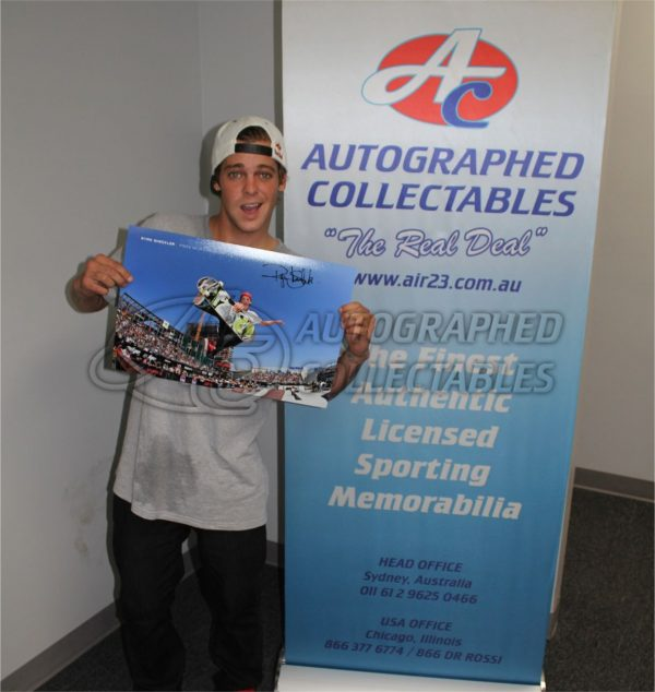 ryan sheckler signed memorabilia collectibles