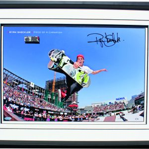 ryan sheckler signed skateboard memorabilia collectibles