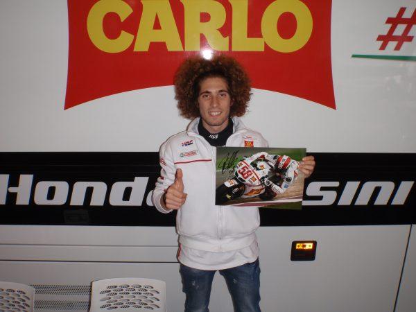 marco simoncelli signed motogp honda gresini memorabilia collectibles
