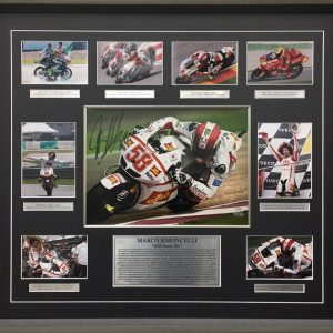 marco simoncelli signed qatar motogp memorabilia