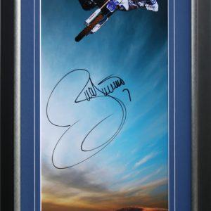 james stewart 2009 signed yamaha memorabilia supercross