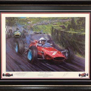 John Surtees 1964 Ferrari Signed Memorabilia