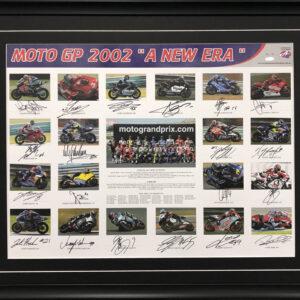 MotoGP Signed Memorabilia 2002 Rossi