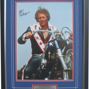 evel knievel signed free rider memorabilia collectibles
