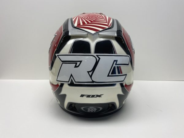 Ricky Carmichael signed Fox helmet supercross memorabilia and collectibles