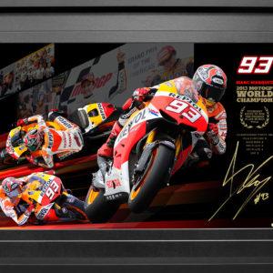 Marc Marquez 2013 Repsol Honda Signed MotoGP Memorabilia