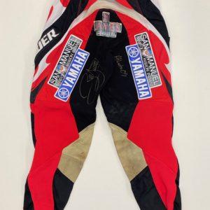 James Stewart 2009 Atlanta Supercross Worn Pants