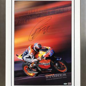 Casey stoner 2011 world champion repsol honda memorabilia collectibles