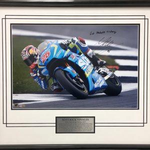 Maverick Vinales 2016 Silverstone victory motogp suzuki memorabilia collectibles