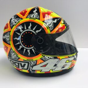 Valentino Rossi 2002 AGV World Champion MotoGP Helmet