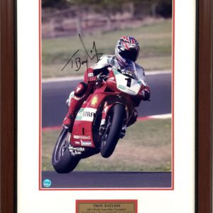Troy Bayliss 2001 World SBK Signed Memorabilia