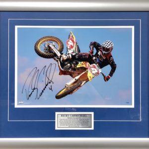 Ricky Carmichael Air Time Signed Suzuki Memorabilia