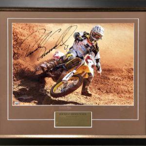 Ricky Carmichael Signed Suzuki Memorabilia AMA Supercross