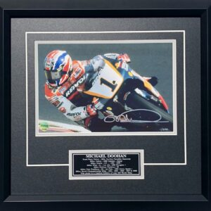 Mick Doohan 1998 Repsol Honda Signed MotoGP Photo