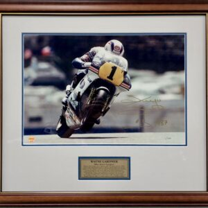 Wayne Gardner 1987 World Champion Photo 500cc Memorabilia