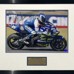 Sete Gibernau 2004 Signed MotoGP Honda Memorabilia