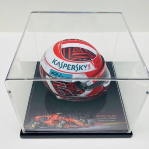 Charles Leclerc Signed SPA Victory Helmet