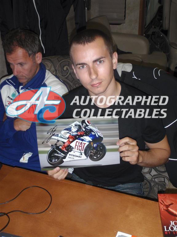 Jorge Lorenzo 2010 MotoGP Yamaha Authenticity