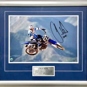 Chad Reed Signed Yamaha AMA Supercross